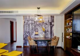 摩登现代风格餐厅装修设计