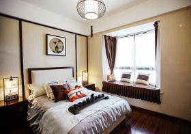 简约新中式风格卧室装修设计