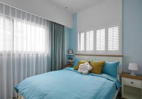 清爽地中海风格卧室装修设计