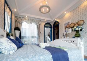 温馨地中海风格卧室装修设计