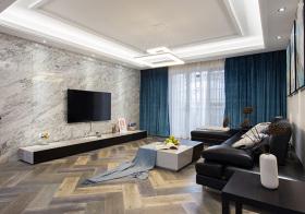 质感现代风格客厅装修设计
