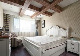 甜美美式风格卧室装修设计