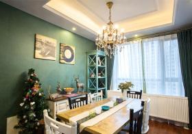 温馨美式风格餐厅装修设计