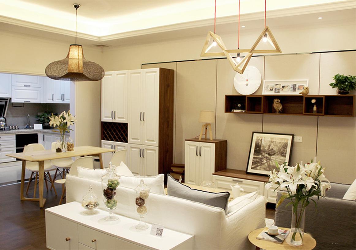 温馨宜家风格客厅装修设计