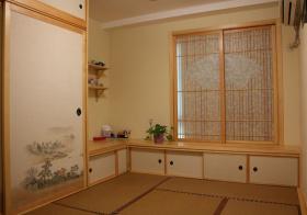 木质宁静榻榻米装修设计