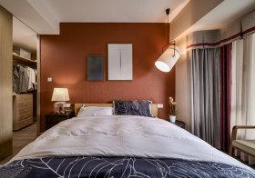 清新宜家卧室背景墙欣赏