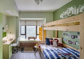 浅绿宜家儿童房设计