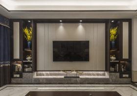 精美新中式电视背景墙欣赏