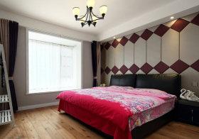 复古精美现代卧室背景墙欣赏