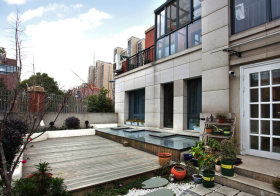 素雅现代花园设计