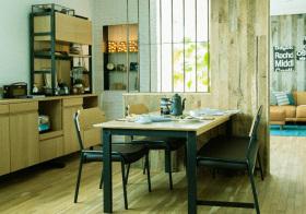 质朴混搭风格餐厅装修设计