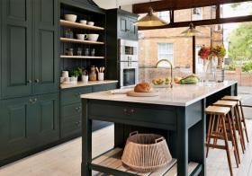 美式宜家风格厨房装修设计
