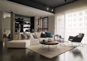 格调现代风格客厅装修效果图