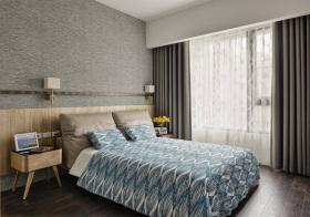 质感现代风格卧室装修设计