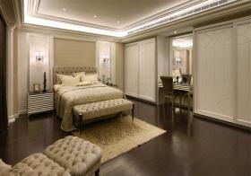 优雅简欧风格卧室装修设计