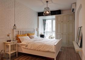 极简美式风格卧室装修效果图