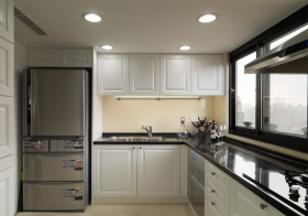 利落简约风格厨房装修设计