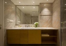 都市简约风浴室柜设计