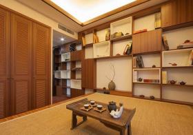 和风日式书房装修