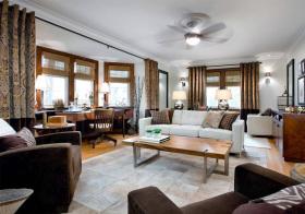 舒适现代风格客厅装修设计