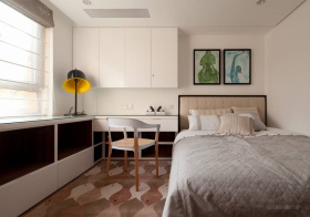 实用简约风格卧室装修设计