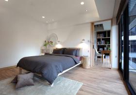 极简宜家风格卧室装修设计