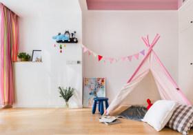 粉色宜家儿童房欣赏