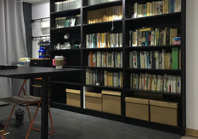简约风书房装修设计