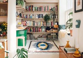 隔断简约小书房设计