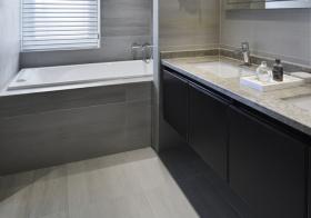 冷感现代风浴室柜装修