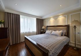简约美式风格卧室装修设计
