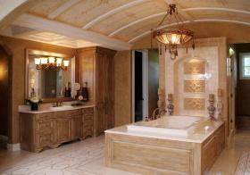 大户型欧式浴室柜装修