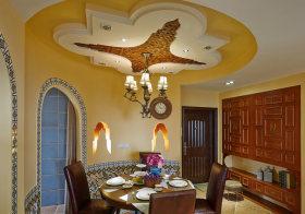 混搭餐厅吊顶设计