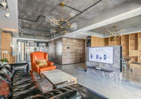 个性混搭风格客厅装修设计