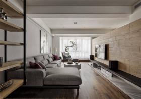 简约风格客厅装修设计