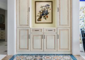 壁画欧式风玄关设计