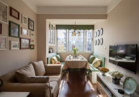 田园风格客厅装修设计