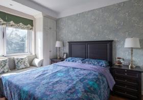 美式田园风格卧室装修设计
