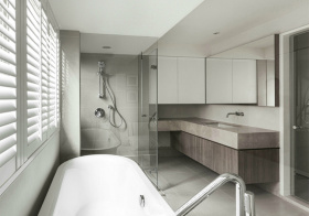 现代风格卫生间装修设计