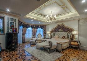 奢华欧式卧室吊顶设计