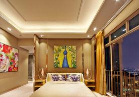 极简欧式卧室背景墙欣赏