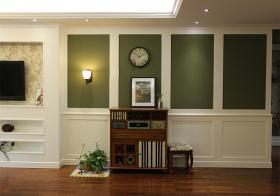 复古美式风装饰收纳柜设计