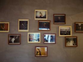 不规则现代照片墙装饰