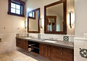 简约美式风格卫生间装修设计