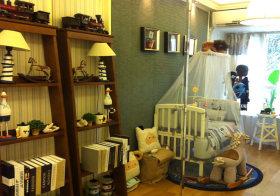 可爱田园儿童房设计