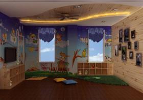 自然田园儿童房设计