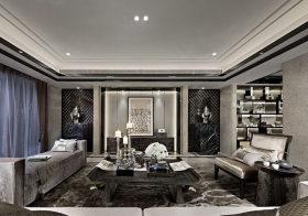 优雅欧式客厅背景墙欣赏