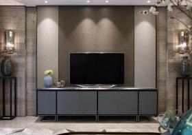 素雅新中式电视背景墙欣赏