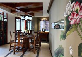 新中式风格餐厅装修设计