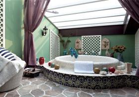 东南亚风格卫生间装修设计